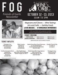 October 12-13, 2013 - Rebec Vineyards & Winery