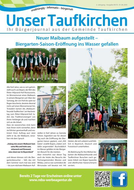 Mai 2013 - reba-werbeagentur.de