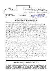 Elternrundbrief Nr. 1- 2013-2014_23.09.13 - Realschule Miesbach