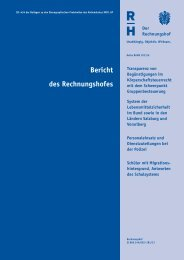 Bund 2013/6 - Der Rechnungshof