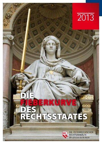Wahrnehmungsbericht 2013 - Österreichischer ...