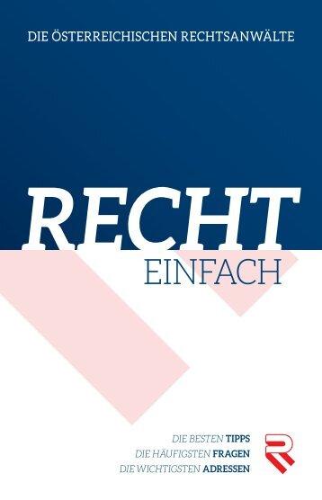 Mein Recht ist kostbar - Österreichischer Rechtsanwaltskammertag