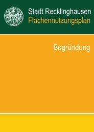 Teil A der Begründung - Stadt Recklinghausen