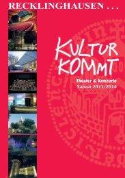 Theater- und Konzertprogramm - Stadt Recklinghausen