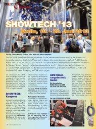 Showtech 2013