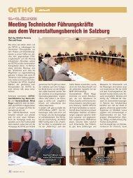 aktuell – Meeting Technischer Führungskräfte aus dem ...