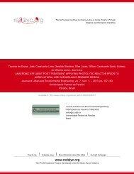 anaerobic effluent post-treatment applying photolytic ... - Redalyc