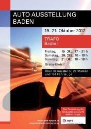 Programmheft - Auto Aargau