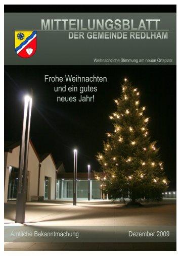Gemeindezeitung 2009 (19,06 MB) - .PDF - Gemeinde Redlham