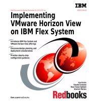 Implementing VMware Horizon View on IBM Flex System