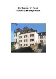 [PDF]Schloss Bellinghoven - Stadt Rees