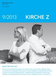 Kirche Z - September 2013 - Reformierte Kirche Zug