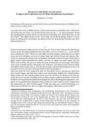 Die Predigt in Originalformatierung als PDF - reformiert-info.de
