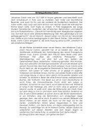 Anhang: Johannes Calvin. PDF - reformiert-info.de