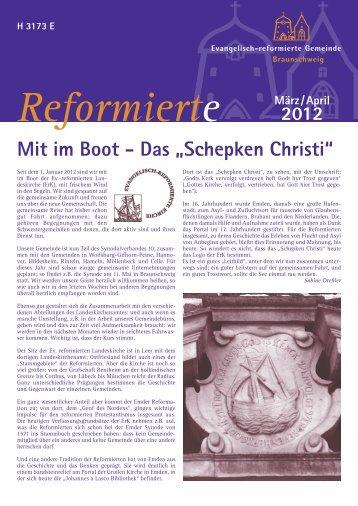 Gemeindeblatt März + April 2012 - Evangelisch-reformierte ...