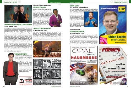 KULTOUR KULTOUR - Regensburger Stadtzeitung