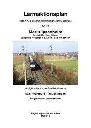 Lärmaktionsplan Ippesheim - Regierung von Mittelfranken - Bayern