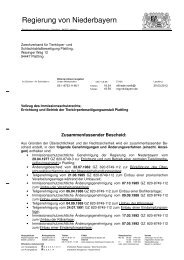 Kopie 7 zus. Bescheid - Die Regierung von Niederbayern