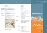 Energie-Atlas Bayern Energienutzungsplan und Energiekonzept