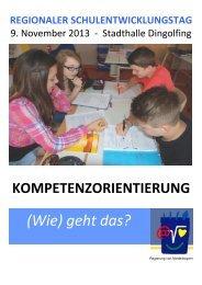 Regionale Schulentwicklungstag - Die Regierung von Niederbayern