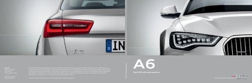 Audi A6 allroad quattro - Bach Holding AG