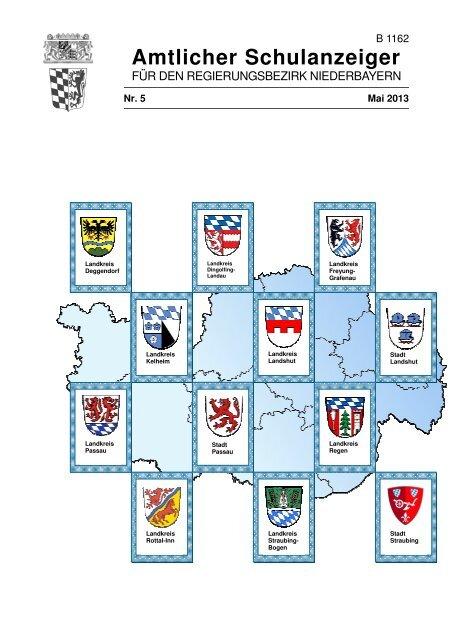 Nr. 5 - Die Regierung von Niederbayern