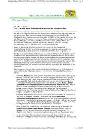 Pressemitteilung vom 13.08.2013 - Regierung der Oberpfalz - Bayern