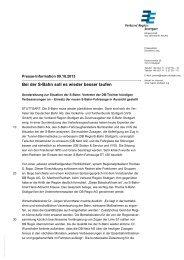 Presseinformation (als pdf-Datei) - Verband Region Stuttgart