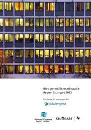 Büroimmobilienmarktstudie Region Stuttgart 2013