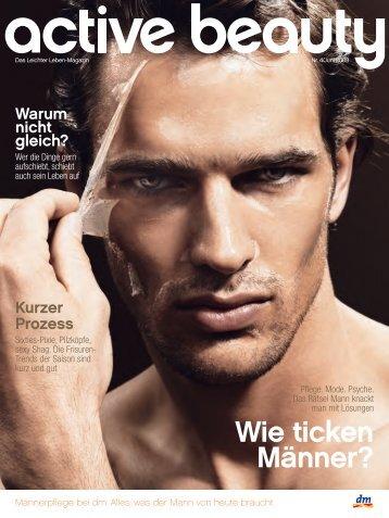 Wie ticken Männer? - Active Beauty