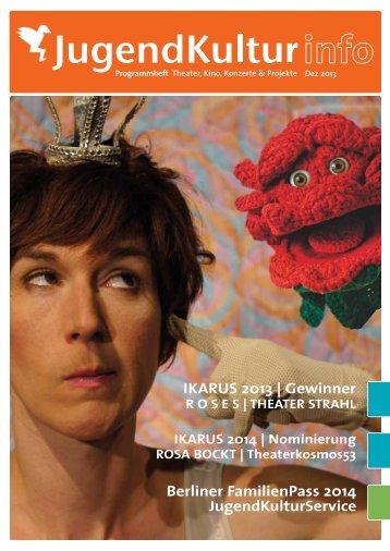 Ausgabe Dezember 2013 - JugendKulturService