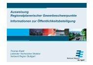 Präsentation als pdf-Datei (11 MB) - Verband Region Stuttgart