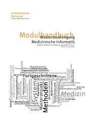 Modulhandbuch (ab WS 2013/14) - Fachhochschule Dortmund