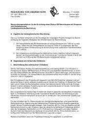 Landesplanerische Beurteilung vom 17.10.2005 - Regionaler ...