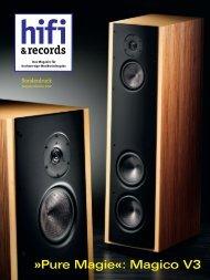 Pure Magie«: Magico V3 &records - Audio Components
