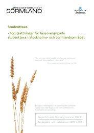 Studenttaxa - Regionförbundet Sörmland