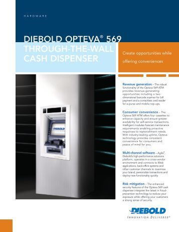 Download the Brochure (PDF) - Diebold