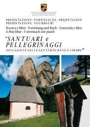 """""""SANTUARI e PELLEGRINAGGI - Regione Autonoma Trentino Alto ..."""