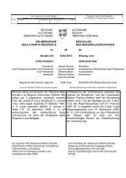 Beschluss des Regionalausschusses vom 12. März 2013, Nr. 50