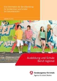 Alles klar? Beruf regional - planet-beruf regional - Planet Beruf.de