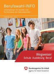 2010/2011 BerufswahlINFO Sek I AA Osnabrück - planet-beruf ...