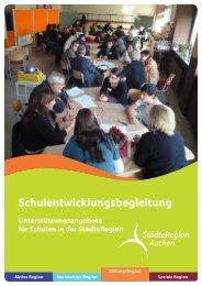 Schulentwicklungsbegleitung - Regionale Bildungsnetzwerke