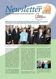 NewsLetter_1_2010 LO1 - Regionale Bildungsnetzwerke