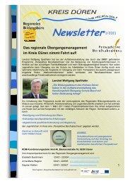 Newsletter2011-1 - Regionale Bildungsnetzwerke