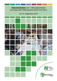 1. Bildungskonferenz 10.09.2012 I Dokumentation - Regionale ...