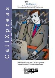 für Microsoft® Windows Unified Messaging und Call ... - egssoft Gmbh