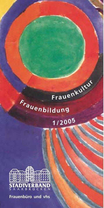 Frauenbildungsprogramm 1/2005