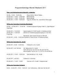 Programm - Regionalverband Saarbrücken