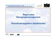 Vorstellung KOSA - Regionalverband Saarbrücken
