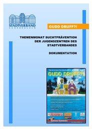 Dokumentation des Themenmonats zur Suchtprävention